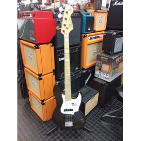 Bajo Sx Jazz Bass American Ash Fjb 75 Tbk Negro 4 Cuerdas