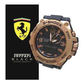 d02ad86b512 Relógio Masculino Gshock Kit Perfume Contratipo Estojo Cg30