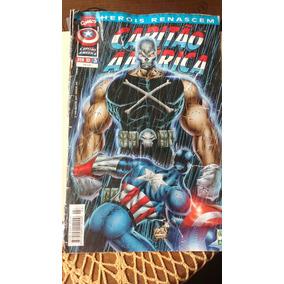 Hq Capitão América Herois Renascem N 3