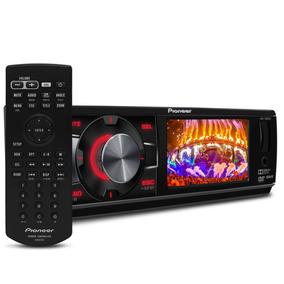 Dvd Player Pioneer 1din Dvh-7880av Mp3 Usb Com Câmera De Ré