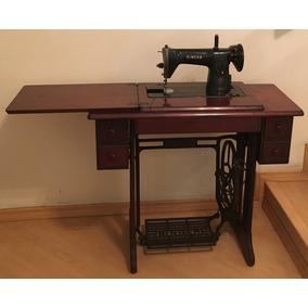 Máquina De Costura Singer, Relíquia, Antiga, 1954, 15c + Bri