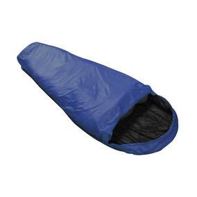 Saco De Dormir Solteiro Nautika Micron 5°c À 8°c Azul
