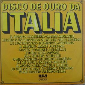 Lp Italia Disco De Ouro Fontana Endrigo Capa Vg+ Lp Vg+