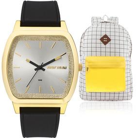 60baae6b5d1 Relogio Feminino Dourado - Relógios De Pulso no Mercado Livre Brasil