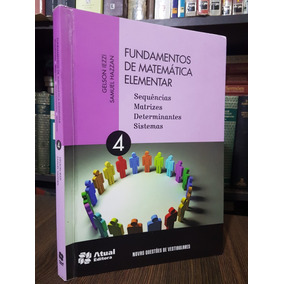Ime Ita Fundamentos De Matemática Elementar Vol 4 Gelson Iez