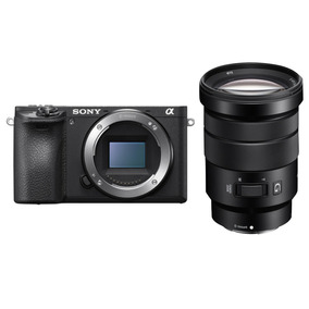 Kit Sony A6500 4k Com 18-105mm F/4 G Oss - Garantia Sony
