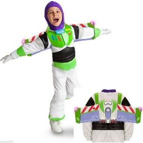 Fantasia Buzz Lightyear C/ Luz Disney Toy Story 4 5/6 Anos