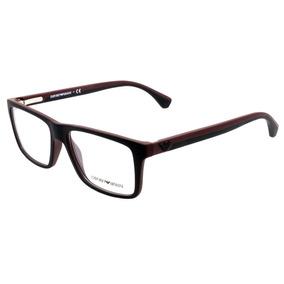 7970a9b70accf Armação Feminina Oculos Grau Emporio Armani Ea3137 5695 Nude