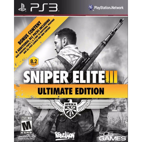 Sniper Elite 3 Ultimate Edition Ps3 Psn Comprou Chegou