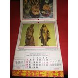 Antiguo Calendario Carozzi 1959 Araucanos