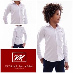 4287e998e Camisa Infantil Manga Longa Ideal Casamento Batizado Crisma