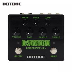 Pedal Preamp B Station Hotone Bass Drive Di Comp Baixo