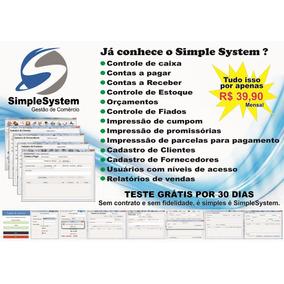 Sistema Programa Para Comercio, Lojas, Boutiques, Mercearia