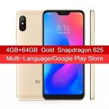 Celular Novo Xiaomi Mi A2 Lite 64gb Global 4g +case Pelicula