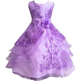 5ae751e14 Vestido Xv  ivonne Leopardo) Vestidos Largos Mujer - Vestidos Lila ...