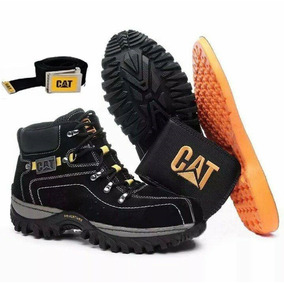 Coturno Bota Caterpillar Adventure Original + Kit De Brindes