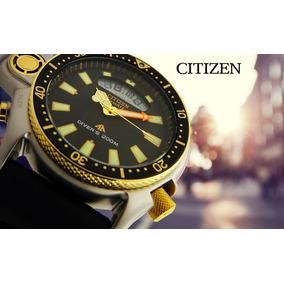 cbb0f7ceb98 Relogio Citizen Promaster Antigo Serie Ouro Masculino - Relógios De ...