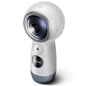 Câmera Filmadora Samsung Gear 360 4k 2017 Wifi -retire Em Sp