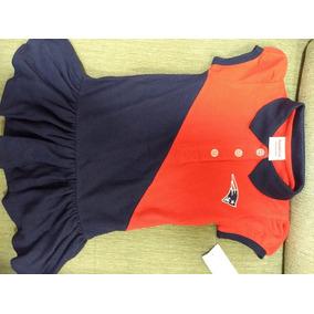 Vestido Bebê Futebol Americano - Nfl - New England Patriots b87bae9c41bf4
