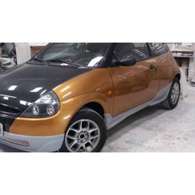 Spoiler Frente Do Ford Ka   Fibra Sem Pintar