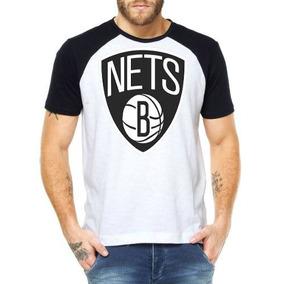 Camisetas Masculinas Brooklyn Nets Basquete Nba Blusas Moda 7e625d9319396