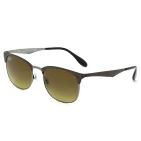 3a8ddfb481f08 Ray Ban Rb3538 188 13 53 Clubmaster Metal - Lente 53mm