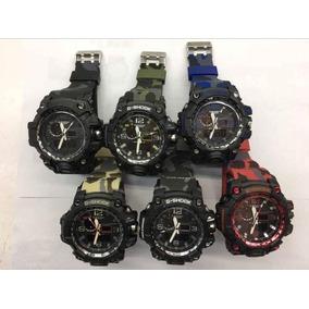 bc0e14bd1d1 G Shock Mudmaster Wr20bar Camuflado - Relógio Masculino no Mercado ...
