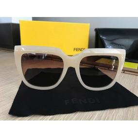 03ee4e5aebb38 Armaçao Transparente Fendi - Óculos no Mercado Livre Brasil