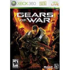Jogo Gears Of War Xbox 360 Midia Fisica Lacrado Nota Fiscal