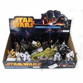 Caixa De Chaveiro Star Wars Multikids 24 Personagens Lacrada