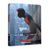 Blu Ray Steelbook Homem Aranha No Aranhaverso - 3d+2d+extras