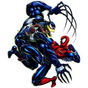 Livro De Colorir Spider-man Vs. Venom Antiestresse