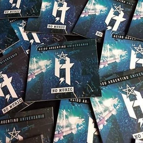 La H No Murio Acido Argentino Dvd Nuevo 2018 Original Malon
