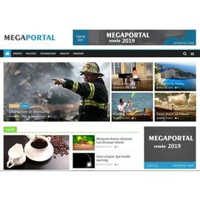 Mega Portal De Notícias Php - Informática no Mercado Livre Brasil 3551ee81109d5