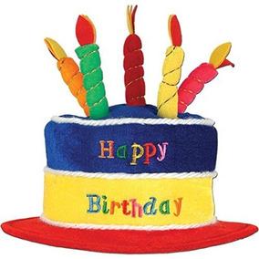 Sombrero De Cumpleaños De Felpa Accesorios Para Fiestas 1 C e02012c5858