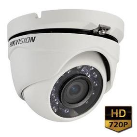 Câmera Hikvision Ds-2ce56c0t-irmf Hd 720p 1mp 2,8mm Ir 20mts