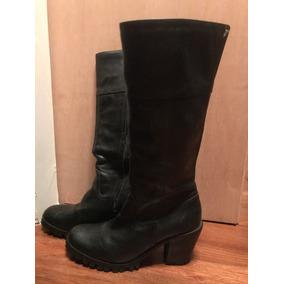 4fdc228028afb Salto Tratorado Botas De Cano Longo - Sapatos no Mercado Livre Brasil