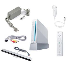 Nintendo Wii Desbloqueado Completo Semi Nv Mario Zelda Smash