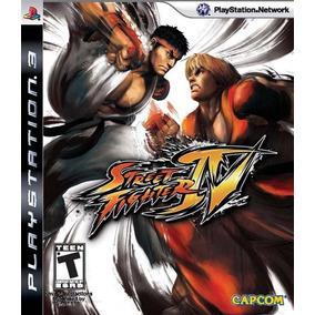 Jogo Street Fighter Iv Ps3 Ação Luta Aventura Mídia Física