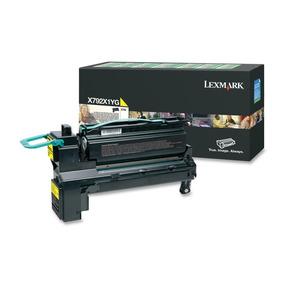 Cartucho Toner Lexmark X792 Amarelo - X792x1yg