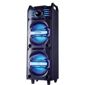 Caixa De Som Party Speaker 350w Preta - Sp285