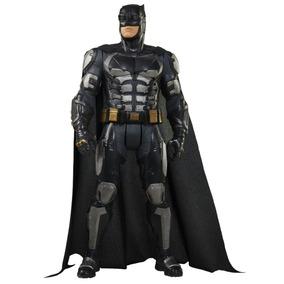 Boneco Mimo Liga Justiça Batman Armadura Premium Origin 45cm