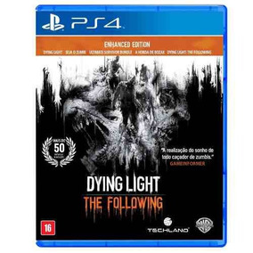 Dying Light Following Enhanced Ps4 Mídia Física Português