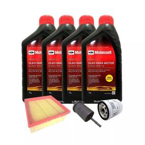 4 Litros De Óleo 5w20 Sintético + Filtro De Óleo + Ar + Comb