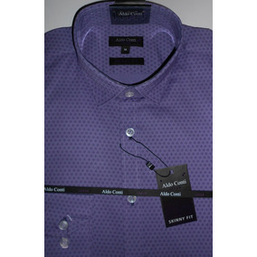 e9fcf8c6b0468 Camisas Hombre Slim Fit En Morelia - Camisas Violeta en Mercado ...