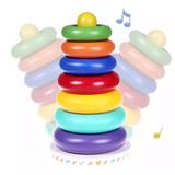 Torre De Aros Didactico Musical Infantil Estimulacion Bebes