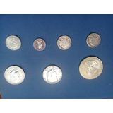 Monedas Antiiguas De 1967 -1976 Y Moneda Panameña De 1940