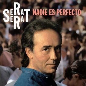 Joan Manuel Serrat Nadie Es Perfecto Vinilo Nuevo Lp 2019