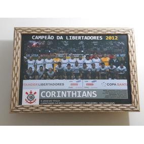 Quadro 20x30 Cm - Corinthians Campeão Da Libertadores