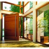 Porta Pivotante Madeira 215x150 Entrada Sala Cozinha Copa